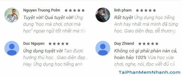 đánh giá ứng dụng duolingo