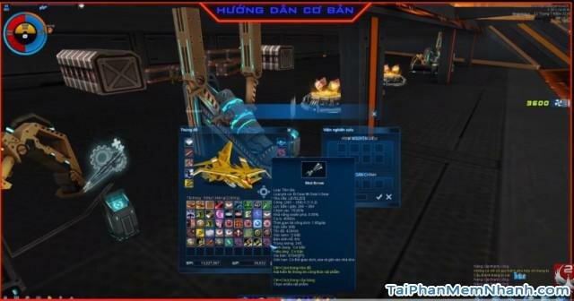 nâng cấp phi thuyền và vũ khí trong game phi đội 2