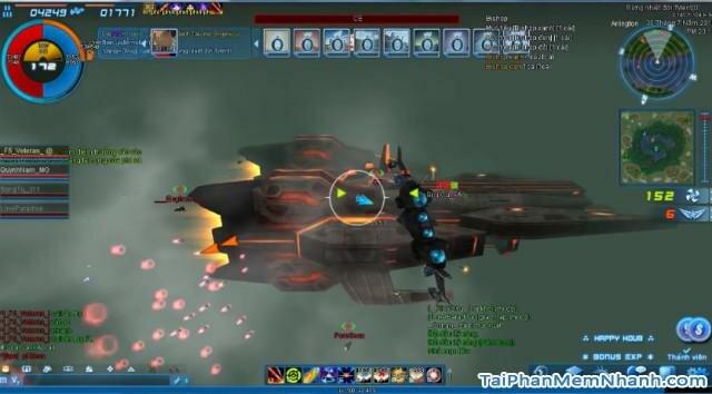 một trấn chiến trong game phi đội 2