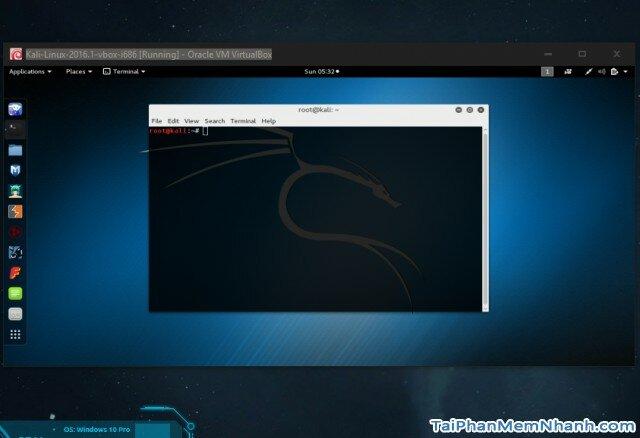 Linux trên virtualBox