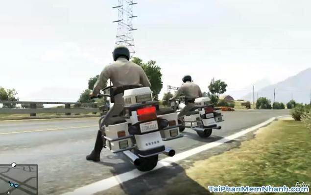 có cả cảnh sát trong game GTA
