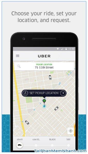 Tải ứng dụng Uber - Gọi xe taxi sang cho Android - Hình 3