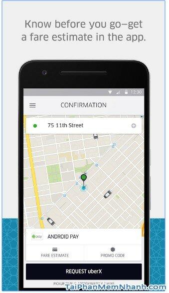 Tải ứng dụng Uber - Gọi xe taxi sang cho Android - Hình 4