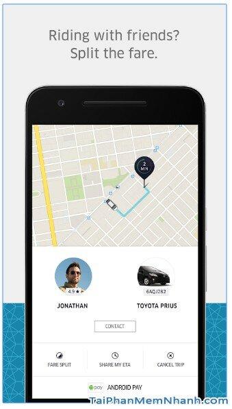 Tải ứng dụng Uber - Gọi xe taxi sang cho Android - Hình 5