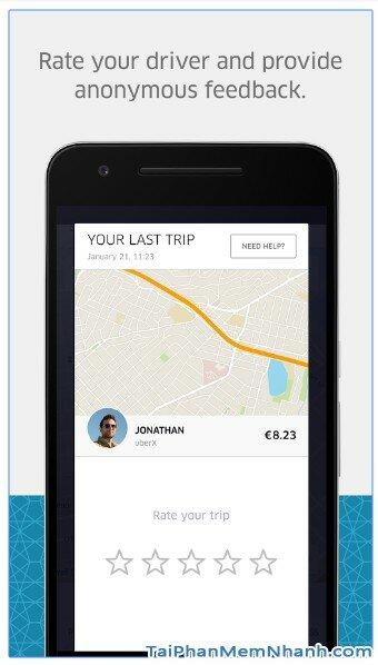 Tải ứng dụng Uber - Gọi xe taxi sang cho Android - Hình 6
