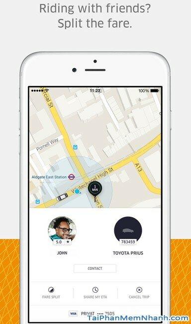 Tải Uber - ứng dụng gọi taxi cho iphone - Hình 4