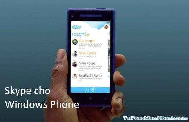 tải skype cho Windows Phone - Hình 2