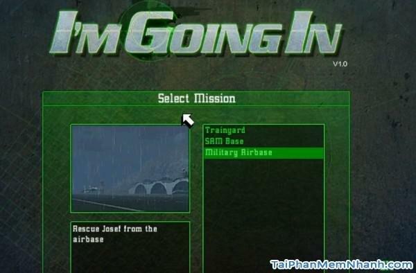 chọn nhiệm vụ trong game project igi online
