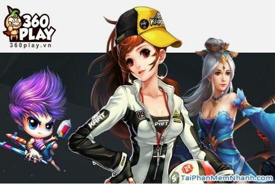 Tải 360Play Client – Phần mềm chơi Game Online