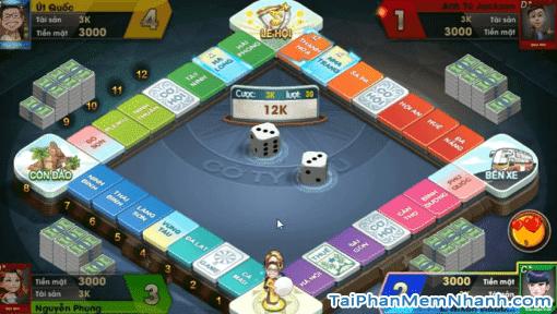 Hình ảnh game cờ tỷ phú 360 mobile
