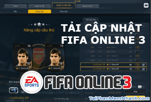 Tải FIFA Online 3 – Bản nâng cấp game bóng đá 2.5