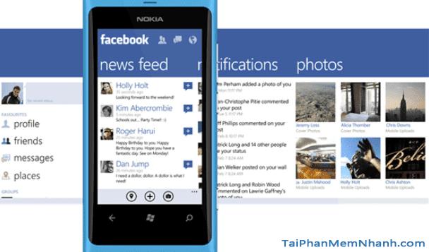 Tải và cài đặt Facebook cho điện thoại cài Windows Phone + Hình 2