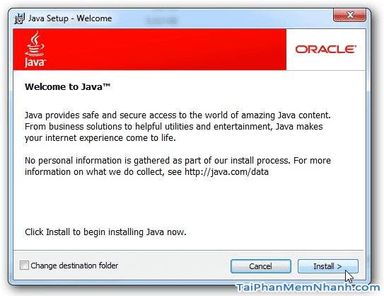 Giới thiệu phần mềm JAVA Runtime Environment cho LapTop, PC + Hình 3