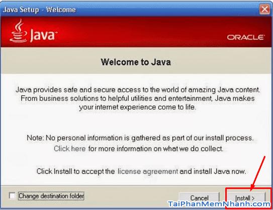 Hướng dẫn cài đặt và sử dụng Java trên máy tính + Hình 3