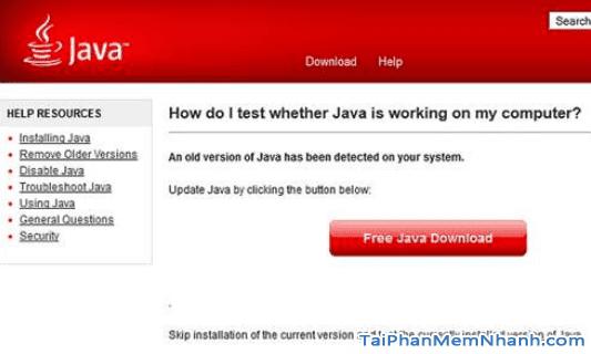 Cách sửa lỗi không cài được phần mềm Java cho máy tính + Hình 4