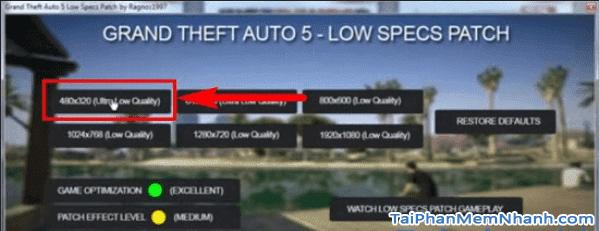 Cách chơi game GTA V trên máy tính cấu hình thấp + Hình 4