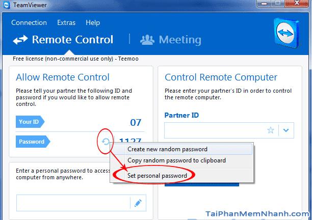 Hướng dẫn thay đổi độ dài mật khẩu để đăng nhập Teamviewer + Hình 3
