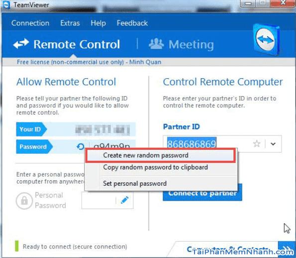 Hướng dẫn thay đổi độ dài mật khẩu để đăng nhập Teamviewer + Hình 6