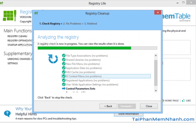 Tải và cài đặt phần mềm Registry Life cho máy tính Windows + Hình 2