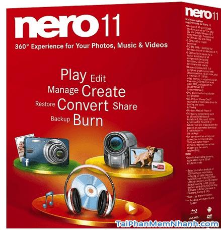 Hướng dẫn cài đặt phần mềm - Nero 11 cho máy tính + Hình 2