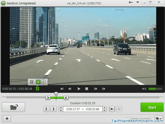 Tải phần mềm cắt khung hình video Bandicut cho Windows + Hình 3