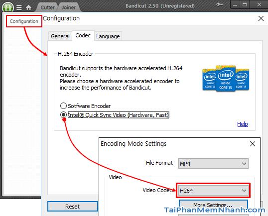 Tải phần mềm cắt khung hình video Bandicut cho Windows + Hình 5