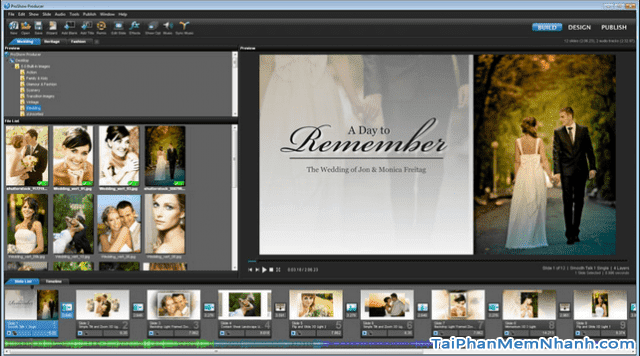 Tải phần mềm làm video từ ảnh - ProShow Producer cho máy tính + Hình 3