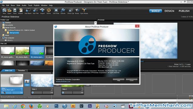 Tải phần mềm làm video từ ảnh - ProShow Producer cho máy tính + Hình 4