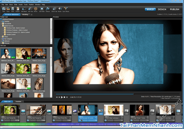 Tải phần mềm làm video từ ảnh - ProShow Producer cho máy tính + Hình 5