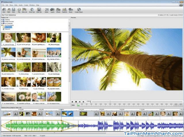 Tải phần mềm tạo video chuyên nghiệp từ ảnh - PROSHOW GOLD + Hình 3