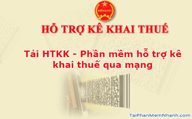 Tải phần mềm hỗ trợ kê khai thuế qua mạng - HTKK cho PC + Hình 1