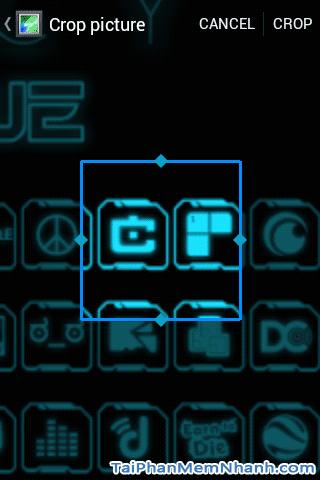 crop icon từ ảnh chứa icon