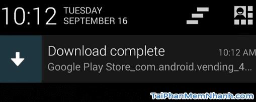 Tải google play store về điện thoại Android