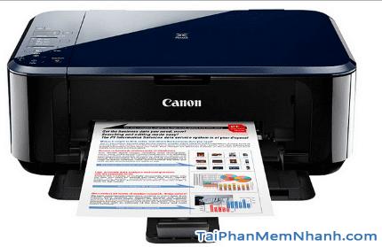 Tải và cài đặt driver máy in Canon PIXMA E500