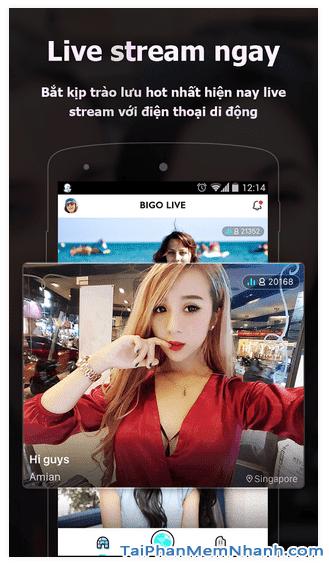 Hướng dẫn tải và cài đặt BIGO LIVE cho điện thoại Android + Hình 5