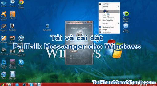 Tải và cài đặt PalTalk Messenger cho máy tính Windows