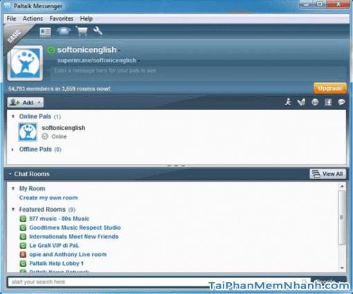 Hướng dẫn tải và cài đặt PalTalk Messenger cho máy tính Windows + Hình 2