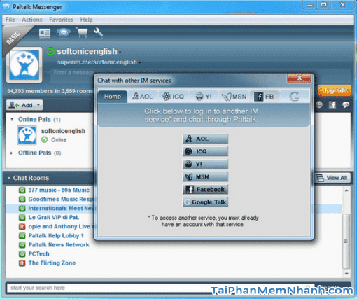 Hướng dẫn tải và cài đặt PalTalk Messenger cho máy tính Windows + Hình 3