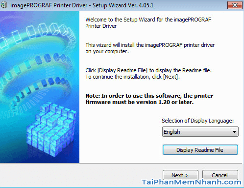 Cách tải và cài đặt Driver máy in Canon PIXMA IP2700 + Hình 5