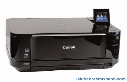 Tải và cài đặt driver máy in Canon PIXMA MG5250