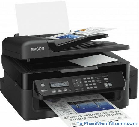 Hướng dẫn tải và cài đặt phần mềm Driver máy in Epson L550 + Hình 2