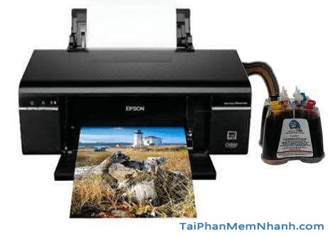 Printer Epson T50 - Tải và cài đặt Driver máy in Epson T50 + Hình 1