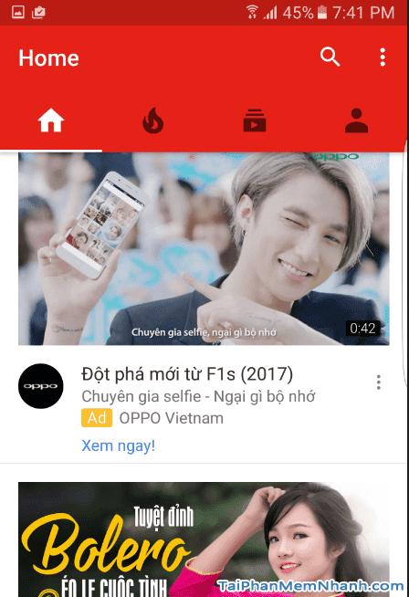 cập nhật youtube thành công