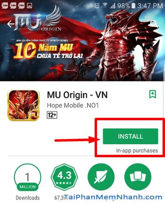 Tải game MU cho android - Hình 8