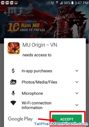 Tải game MU cho android - Hình 9