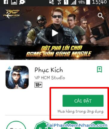 Tải và cài game bắn súng phục kích cho android - Hình 10