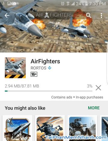 Tải game lái máy bay bắn nhau - AirFighters - Hình 8
