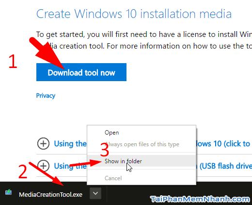 tải bộ cài windows 10 - hình 1
