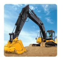 Tải game máy xúc máy cẩu cho điện thoại Android – Sand Excavator