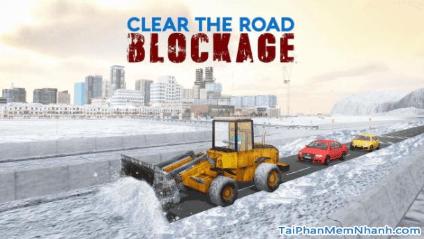 hình chụp game Snow Rescue Excavator Crane 3D